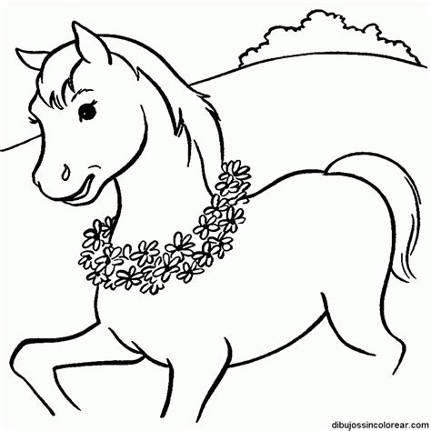imagenes escolares sin colorear adorable dibujos de caballos para colorear infantiles