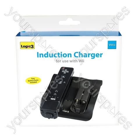 induction charger wii induction charger 2 batt packs bk nw833k by logic3