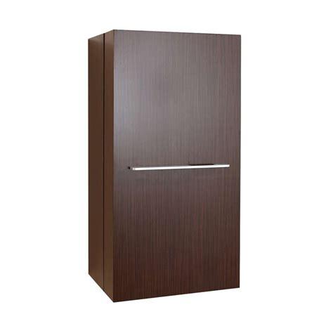 modern walnut cabinets virtu usa carvell 16 quot modern side cabinet in walnut