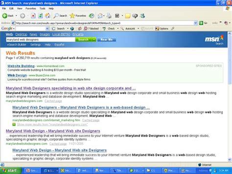 Md Search Website Maryland Web Designers Search Engine Optimization Seo Marketing