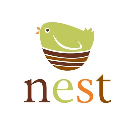 nest bird logo design inspiration pinterest