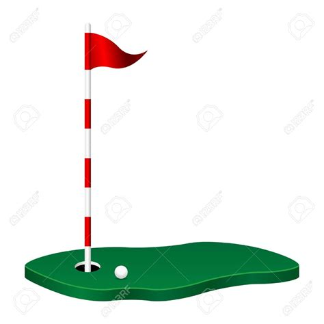 clip golf flag clipart mini golf pencil and in color flag clipart
