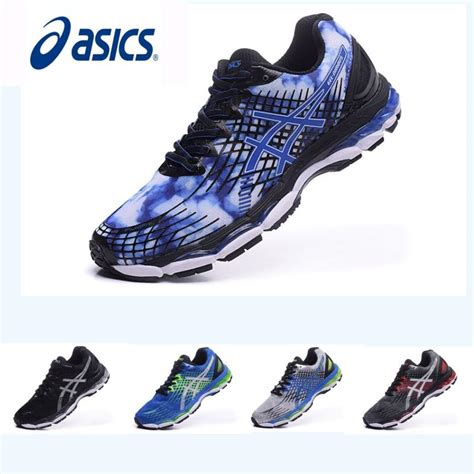 asics comfortable work shoes 2017 asics nimbus17 running shoes men shoes non slip