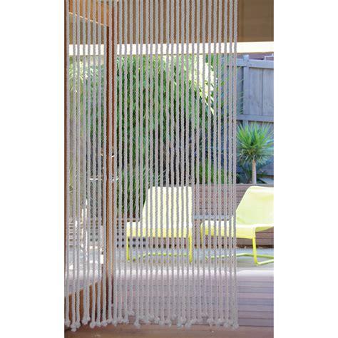 Rope Door Curtain by Pillar Products 90 X 200cm Door Curtain