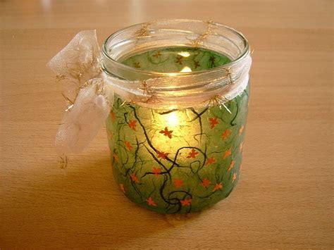Teelichthalter Basteln Glas by Windlicht Selber Basteln