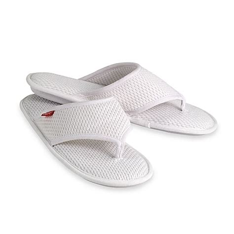 bed bath and beyond slippers elizabeth arden the spa collection women s slippers bed