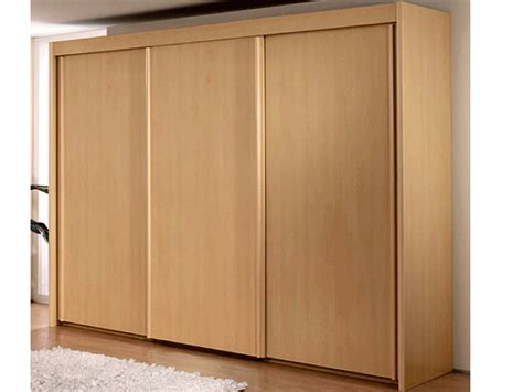 Sliding Wardrobe Doors by New York 3 Door Sliding Door Wardrobe In Beech Warehouse
