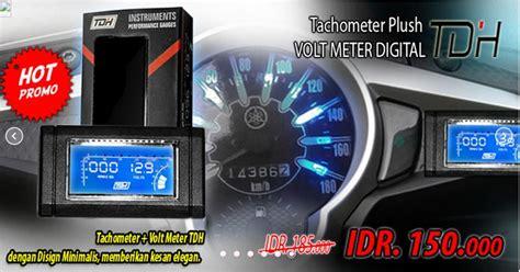 Rpm Digital Variasi voltmeter tachometer rpm digital 2in1 tdh mortech