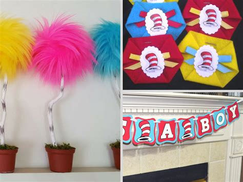 Dr Suess Themed Baby Shower by Dr Seuss Baby Shower Decorations And Favors Baby
