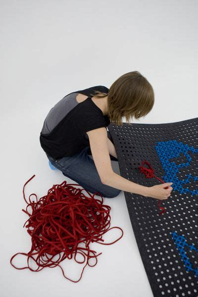 create your own rug design with embroidery see more