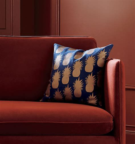 Cb2 Floor Pillow by The Warm Glow Of Copper Decor