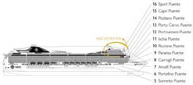 cat 233 gories et cabines du bateau msc magnifica msc
