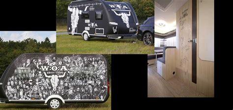 Akiba Hobby Aluminium For Der Black hobby caravan wird zu gunsten der wacken foundation