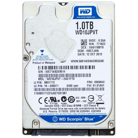 Sale Wd Blue Harddisk 1tb 2 5 Sata Slim wd wd10jpvt 2 5 laptop drive 1tb 5400 rpm sata western digital 1tb drive for sale in