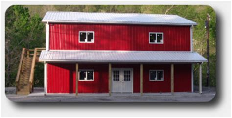 affordable pole barn homes