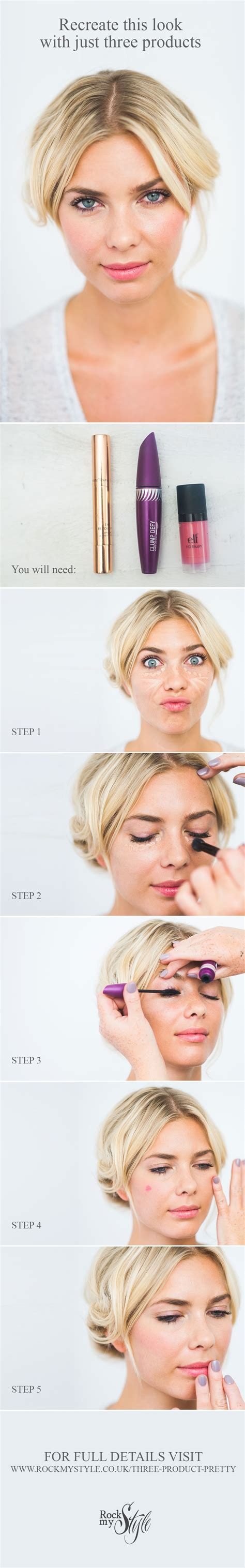 hair and makeup uber my 3 product makeover for rock my style makeup by jodie