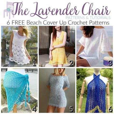 pattern beach cover up free free beach cover up crochet patterns the lavender chair