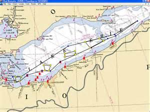 lake erie canada map coast guard firing ranges