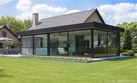 design veranda strakke design veranda in steel look steelt de show