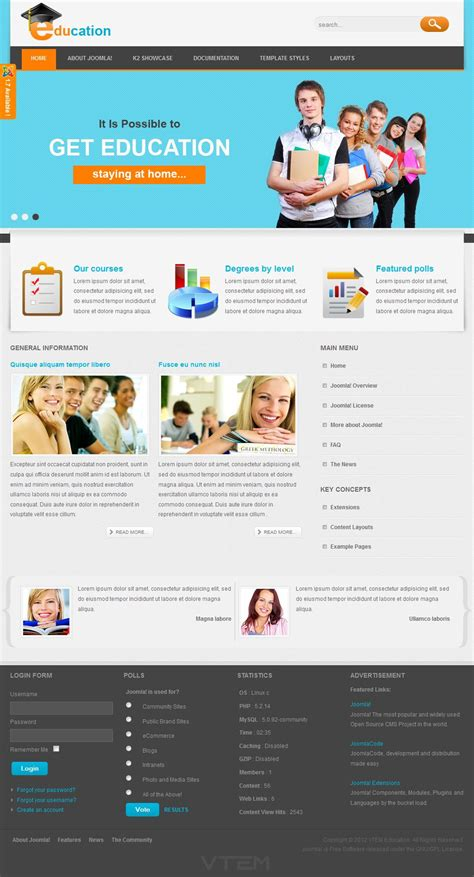 educational templates vt education template vn