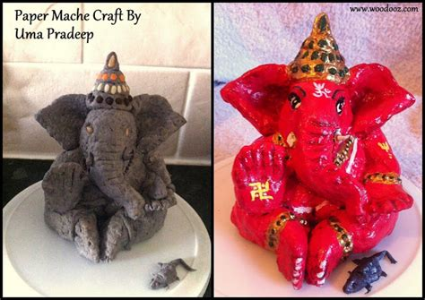 How Do You Make Paper Mache - a do it yourself idol of lord ganesha using paper mache