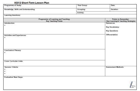 adaptable lesson plan template ks ks teachwire