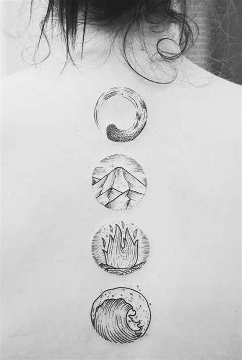 four elements tattoo 18 best 4 elements images on alchemy book of