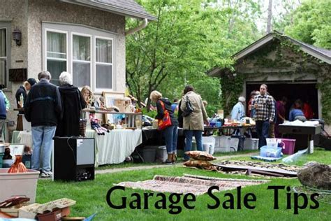 Top Garage Sale Items by Tips For Getting The Best Stuff At Garage Sales