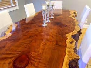 Redwood Kitchen Table Crafted Live Edge Redwood Kitchen Table By Ozma Design Custommade