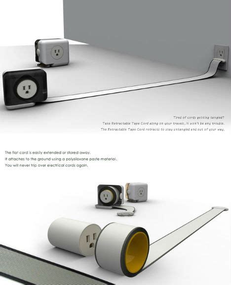 Flat Extension Cord For Rugs by Power Trip 13 Creative Cord Outlet Concepts Urbanist
