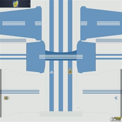 desain jersey 3d argentina 2015 16 kits pro evolution soccer 2016