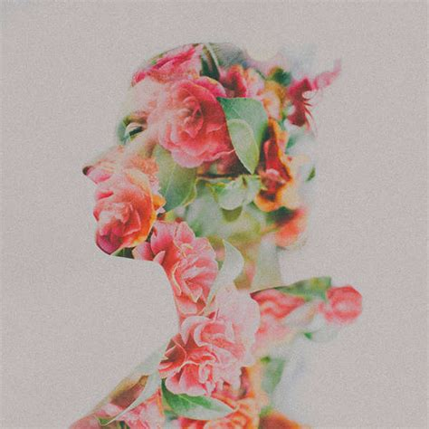 Double Exposure With Flower Tutorial | multiple exposure floral photography double exposure photos