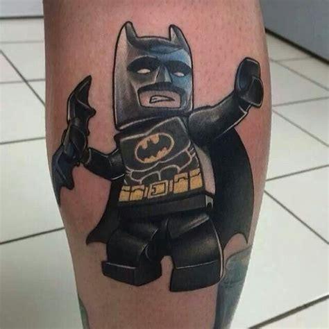 Tattoo Lego Batman   lego batman tattoo sweet tattoos pinterest
