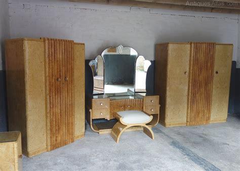 antique bedroom suites art deco 8 piece bedroom suite by h l epstein antiques atlas