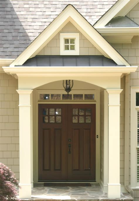 Exterior Porch Doors Cottage Style Front Doors Exterior Traditional With Board