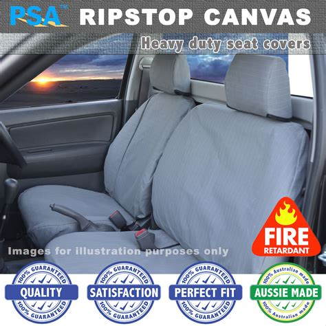 Nissan Car Seat Covers Australia Ripstop Canvas Seat Covers Nissan Patrol Gq Ute Dx Frnt