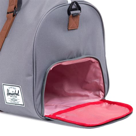 bag with sneaker compartment signature shoe pocket herschel supply co