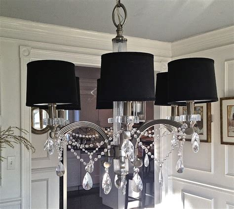 Adding Crystals To Chandelier South Shore Decorating How To Make A Chandelier