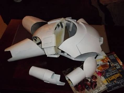 How To Make A Clone Trooper Helmet Out Of Paper - foam clone trooper armour