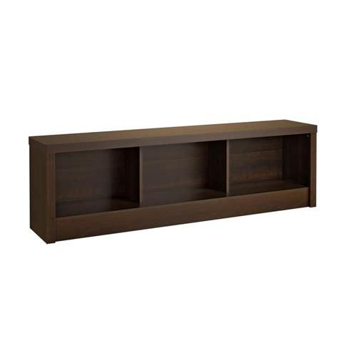 cubbie bench prepac series 9 designer cubbie bench espresso eubd 0500 1