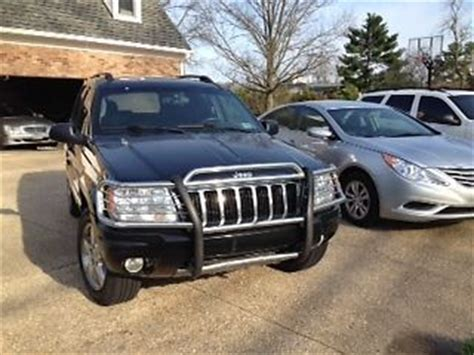 2004 jeep grand grill sell used 2004 jeep grand overland sport utility