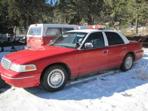 ford crown victoria 1998 used cars for sale buy used 1998 ford crown victoria sedan police interceptor fire chief car automatic v8 od in