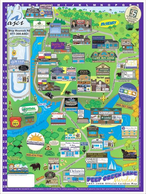 maryland attractions map map of maryland with attractions pictures to pin on