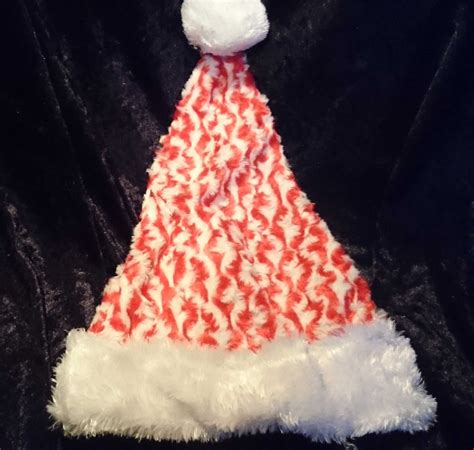christmas hat cuddly red white christmas hat made of nice