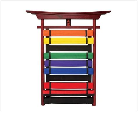 Martial Arts Belt Display Rack by New Taekwondo Karate Mma Martial Arts Belt Display Rack
