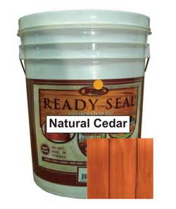 ready seal stain colors ready seal cedar deck stain sealant 5 gallons