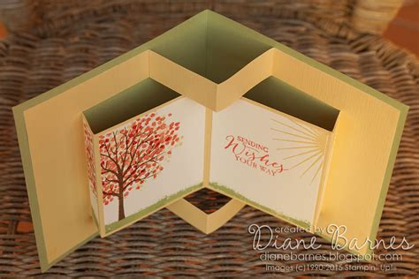 fancy card template idea colour me happy sheltering tree pop up book card template