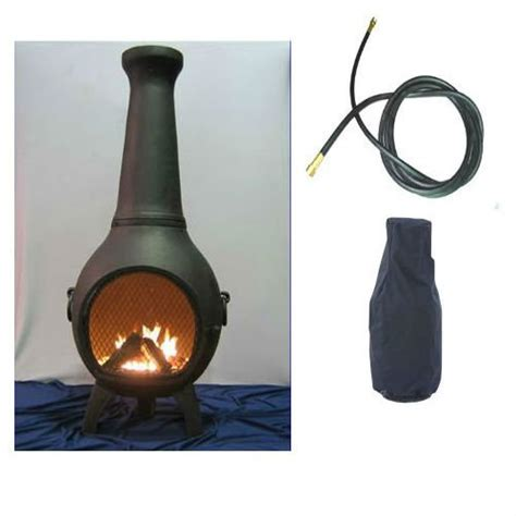 Blue Rooster Chimineas Top 23 Best Gas Chiminea Outdoor Fireplaces 2018