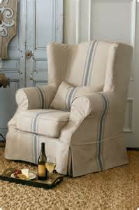Slipcover Outlet Slipcovered Tristan Chair Slipcover Chair Wingback