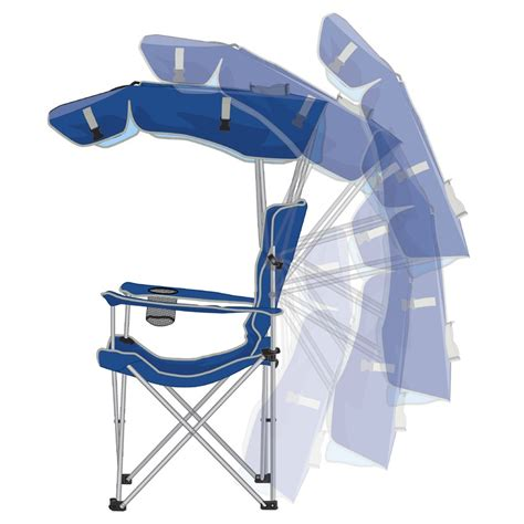 Folding Chair With Shade by Kelsyus Original Backpack C Outdoor Chair With Canopy Island Gear